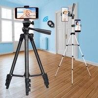 Trípode ligero Para teléfono móvil, soporte de escritorio portátil Para cámara de vídeo, Para iPhone, Canon, Sony, Nikon