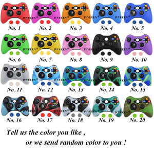 Image 2 - IVYUEEN Camo Protective Skin for Microsoft Xbox 360 Wired / Wireless Controller Silicone Case for X Box 360 Controle Cover