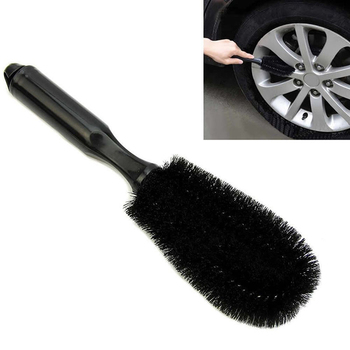 Motorcycle Car Wheel Washing Cleaning tool Wheel Tire Rim Scrub Brush Car Truck image