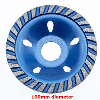 4 Inch Durable Sintered Diamond Sanding Disc Stone Bowl Polishing Angle Grinder Grinding Disc Grinders Concrete Tools grinders woodworking lathes grinders woodworking machines polishing woodworking grinders