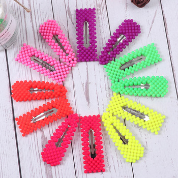 New arrival Women's hair accessories hollow candy color hairpins girl's hair clips for women fasion lovely hairclips new arrival hot words hairclips melanin jealous blessed pitiless hair pins great quality hair accessories wholesale