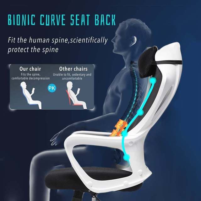 Gaming Office Chairs Ergonomic Mesh Computer Chair High Back Seat Desk Chair Home Office Recliner Gamer Chair Conference Chairs 3