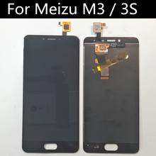 For Meizu M3 MINI LCD Display+Touch Screen Assembly Replacement Accessories for Meizu M3s Meilan 3s  LCD