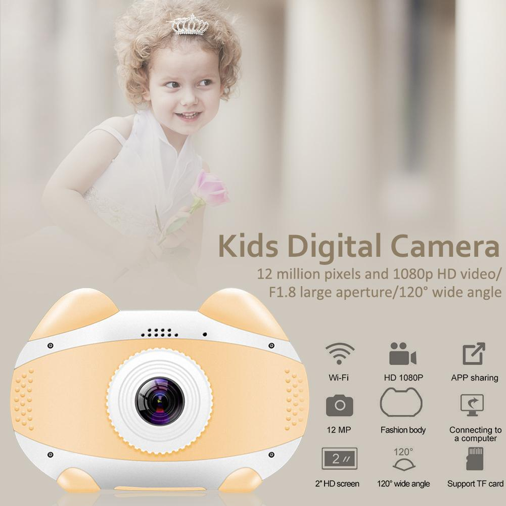 H96f122df54af4f6ba9f0e3cd9385407bF 2019 Newest Mini WiFi Camera Children Educational Toys For Children Birthday Gifts Digital Camera 1080P Projection Video Camera