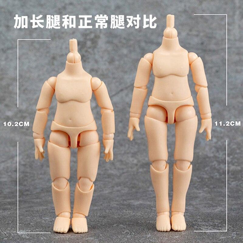 Obitsu 11CM Puppe Spielzeug YMY Körper geeignet für GSC Kopf ob11 BJD Körper Sphärische Joint Puppe Spielzeug Hand Set