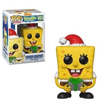 Funko Pop SpongeBob Squidward Patrick Funko Anime Figure PVC Action Figures Boys Toys for Birthday Gifts Collection Model