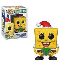 Funko Pop SpongeBob Squidward Patrick Funko Аниме Фигурки ПВХ Фигурки для мальчиков Игрушки для подарка на день рождения Коллекционная модель