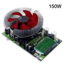 150W modülü elektronik yük çok fonksiyonlu deşarj ölçer kurulu dijital pil kapasitesi test cihazı sabit akım güç kaynağı