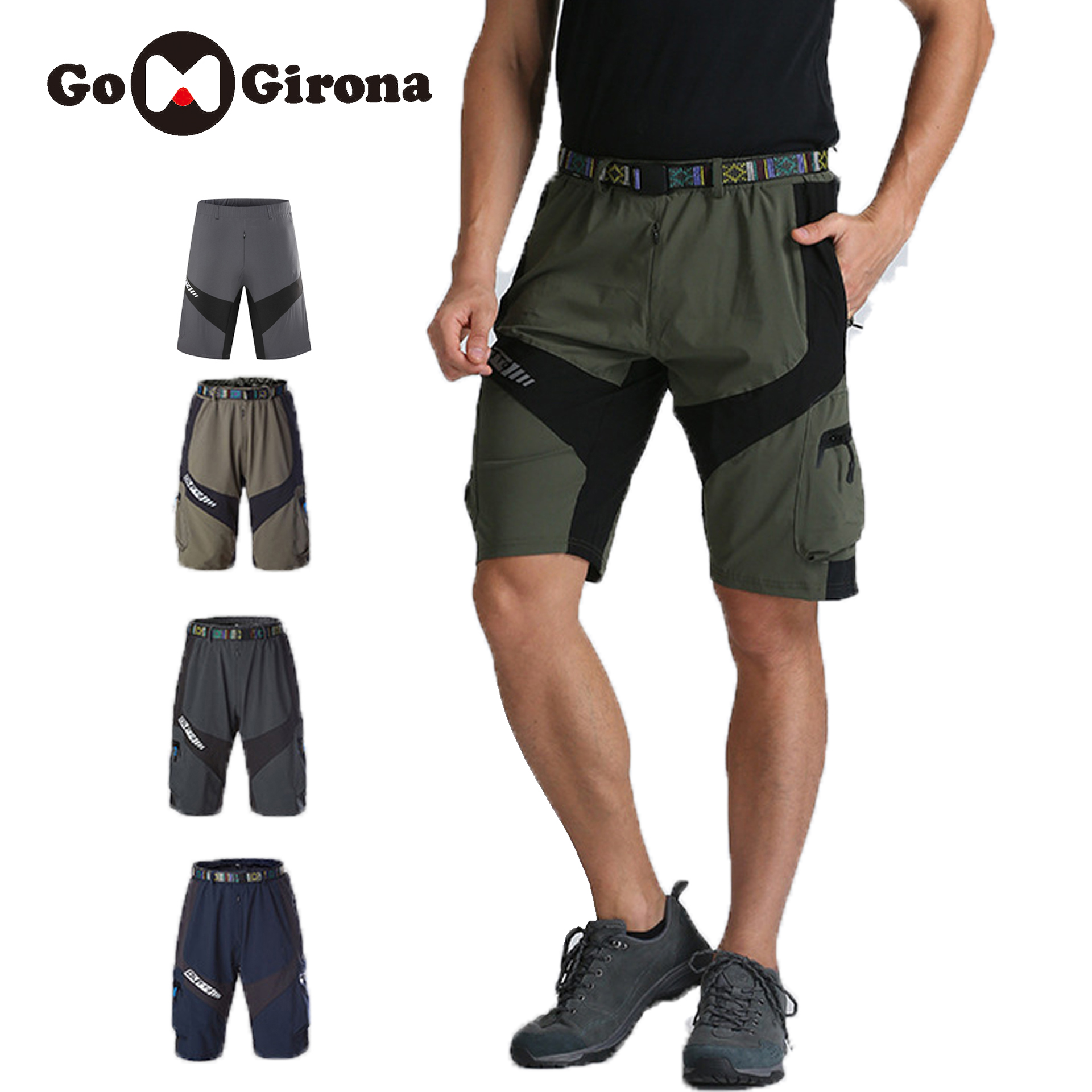 Men/'s Cotton Loose Casual Pants Breathable and Quick-drying Sports Shorts