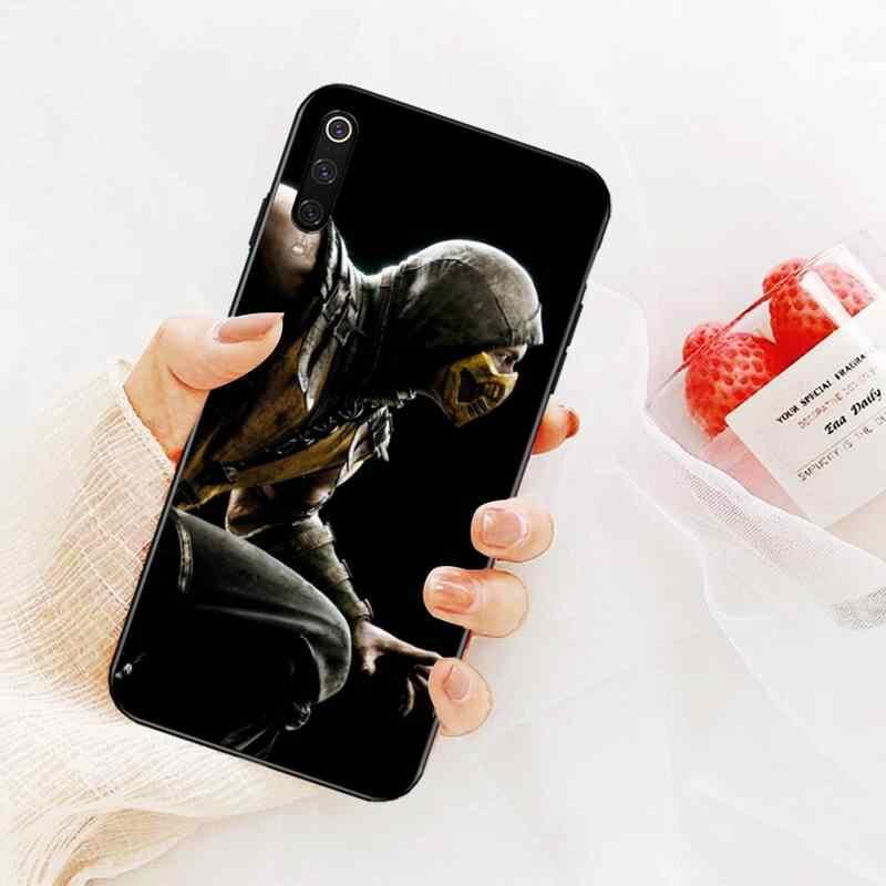 Nbdruicai Scorpion Cartoon Mortal Kombat Telefoon Cover Voor Redmi Note 8 8A 7 6 6A 5 5A 4 4X 4A go Pro Plus Prime