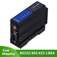 LORA Wireless Serial Port transparent Transmission Module RS232 RS485 RS422 TO LORA Data Transceiver free shipping rtu module industrial serial to 3g wcdma digital transmission gprs rs232 wireless printer