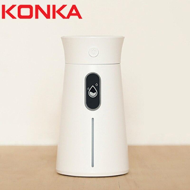 KONKA humidificador de aire Aromaterapia Mini y portátil de Difusor de aceite esencial Umificador de aire