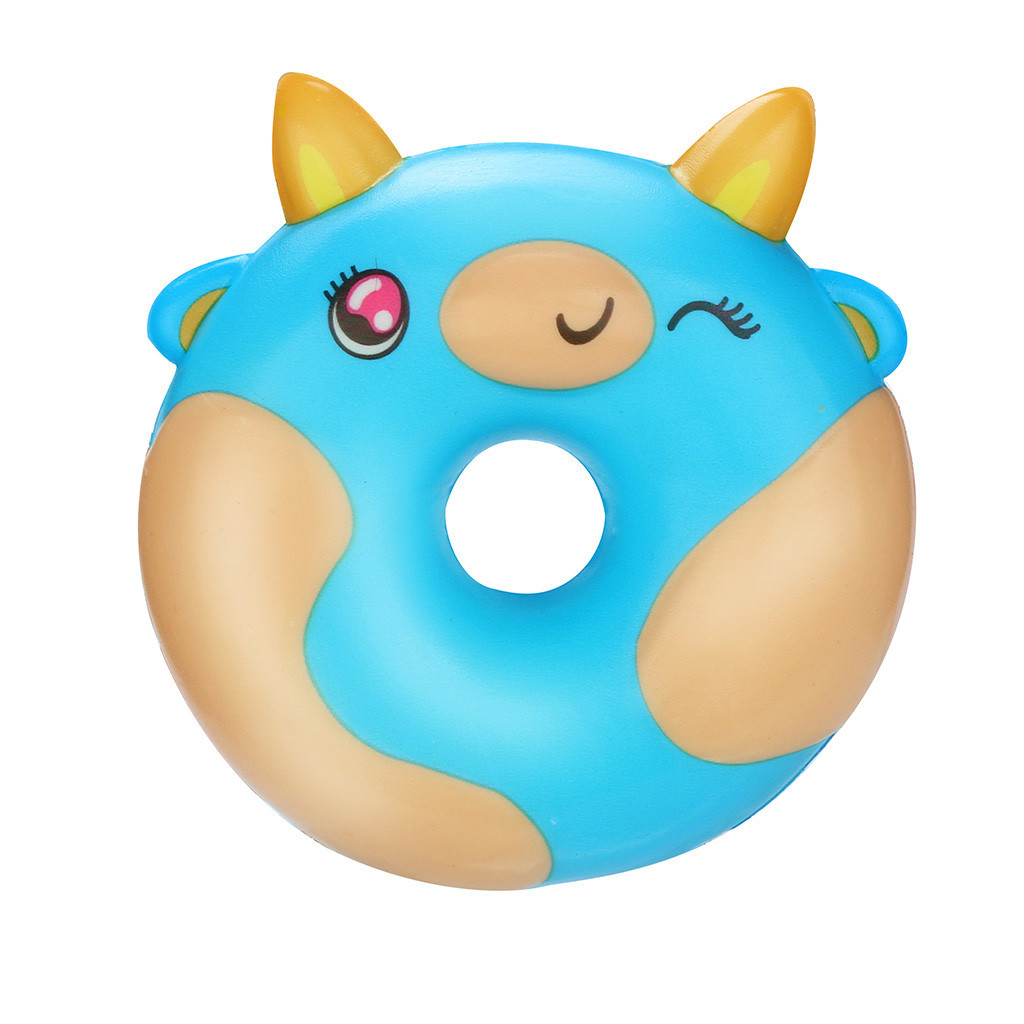Kawaii Doughnut Bread Decompression Slow Rebound Toy Fun Toy For Children Antistress Toys Toys For Children Holiday Gift #A