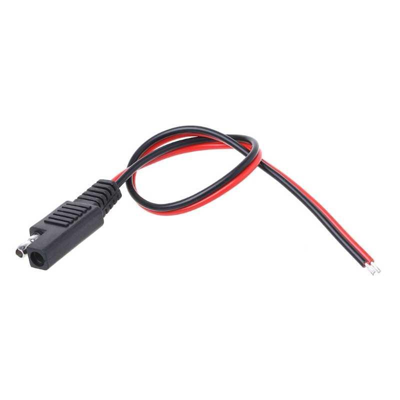 Батарея тендер SAE DIY Кабель 18AWG DC мощность Автомобильный разъем удлинитель Кабель