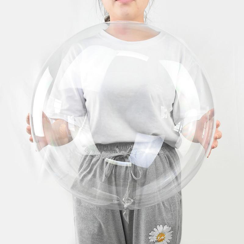 5 шт ., 18, 20, 24, 36 дюймов , прозрачный воздушный шар Bobo, прозрачный Гелиевый шар , украшение для свадьбы, дня рождения, вечеринки, игрушки для взро...