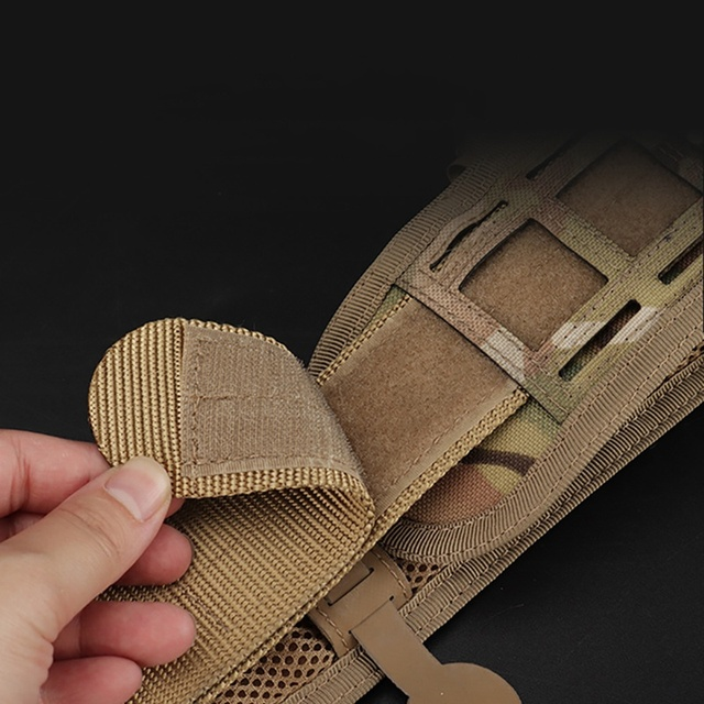 Tactical Waist Belt Water Resistant Adjustable Training Waistband Support For Molle System 5