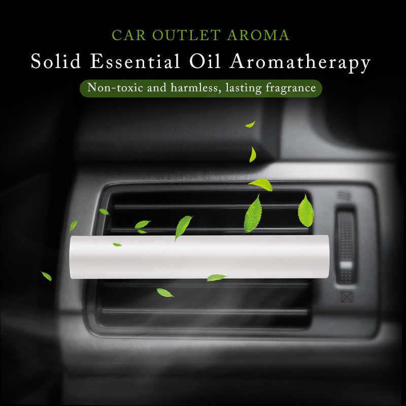 3/5 pièces jasmin citron Cologne thé vert voiture évent désodorisant parfum supplément solide parfum bâton huile voiture accessoire