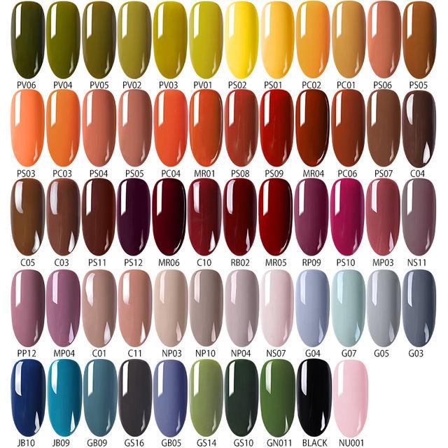 6ml nail gel polish