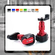 Per HONDA CBR 600 RR CBR600RR 2003-2006 2005 CBR1000RR 2007 protezione anticaduta telaio scorrevole carenatura protezione Crash Pad Protector