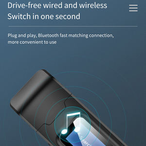 Image 4 - VAORLO עם LCD תצוגת Bluetooth 5.0 אודיו מקלט משדר 3.5MM AUX שקע סטריאו USB מתאם אלחוטי Dongle עבור מחשב טלוויזיה רכב