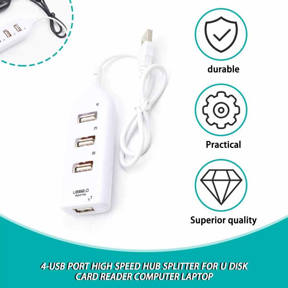 4-USB ميناء عالية السرعة محور الخائن ل U القرص قارئ بطاقات كمبيوتر شخصي محمول نقل البيانات نقل الطاقة