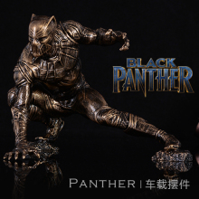 High Quality 1/8 Scale Marvel Black Panther GK Model  Resin Full Body Statue for Car Ornament & Birthday Gifts