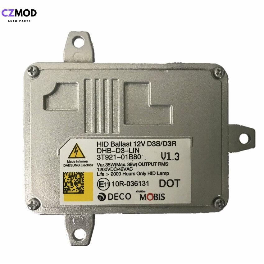 CZMOD Original 3T921-01B80 12V 35W D3S D3R Xenon Headlight HID Ballast DHB-D3-LIN 3T92101B80 10R-036131 Car Accessories(Used)