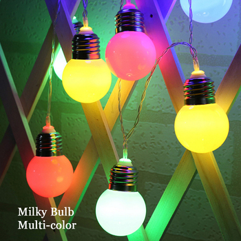 1.5M 3M LED String Light Globe Bulb Ball Battey Power 10 Bulbs 20Bulbs Holiday Decoration Lamp White/Blue/Green/Red/Purple/Pink syringe style blue ink ball pen w 1 led white light pink 3 x ag3