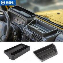 Автомобильная центральная консоль MOPAI для хранения и поддержания порядка для Jeep Wrangler TJ, коробка для хранения приборной панели для Jeep Wrangler TJ ...