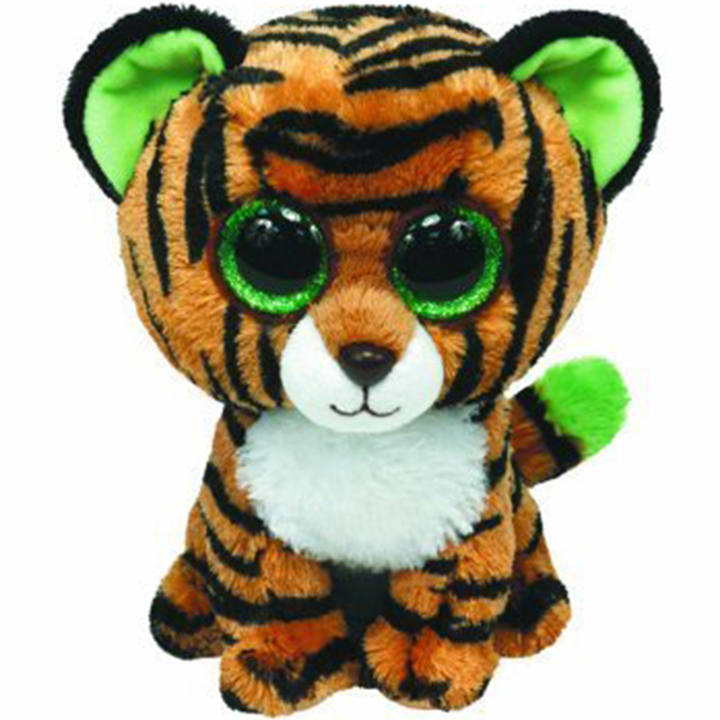 Ty Stripes The Tiger Plush Animal Toys Stuffed Doll Gift Limited Ver 15cm