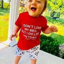 Футболки с надписью «I Don't Love My Baby But I Do Love My Mama» Детская забавная футболка с короткими рукавами модные повседневные футболки для мальчиков и девочек