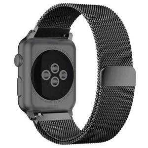Milanese Loop band For Apple Watch Strap 44mm 40mm iWatch band 42mm 38 mm Stainless steel