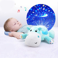Cartoon Baby Sleep Instrument Baby Comfort Sound Control Sleep Decive Infant Educational Toy Luminous Toy For 0 to 3 Kid
