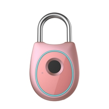 Portable Smart Fingerprint Lock Electric Biometric Door Lock USB Rechargeable IP65 Waterproof Home Door Bag Luggage Lock