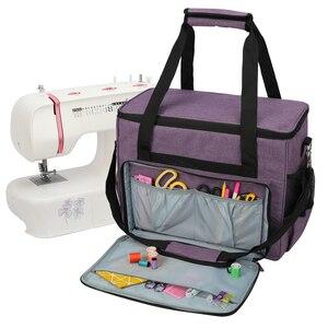 Вязаная сумка, большая емкость, швейная машина, сумка для хранения, шерсть, крючком, крючок, вязаная игла, швейные принадлежности, набор, быто...