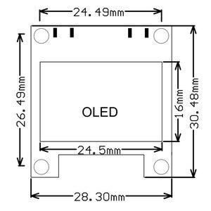 Image 5 - Mini 0.96 pouces OLED musique spectre affichage analyseur MP3 PC amplificateur Audio indicateur de niveau musique rythme analyseur VU mètre