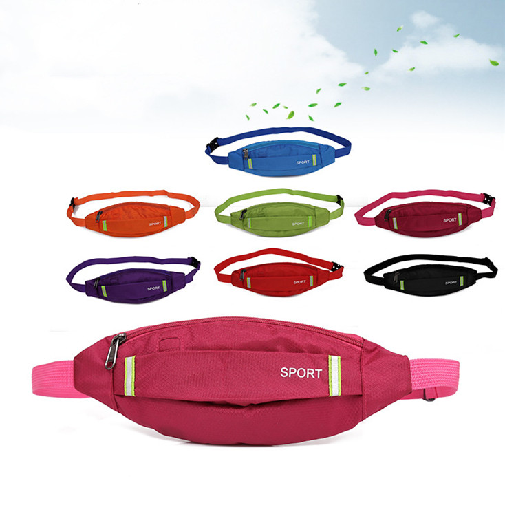 1PC Unisex Sports Running Cycling Jogging Earphone Waist Belt Pack Bag Pouch Pocket
