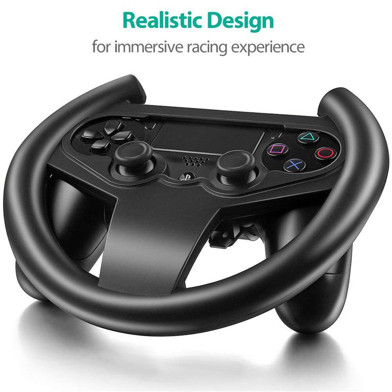 for PS4 Gaming Racing Steering Wheel For PS4 Car Steering Wheel Driving Controller Playstation 4 Accessories