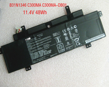 "11.4V 48WH Original B31N1346 Laptop Battery For Asus Chromebook C300MA DB01 13.3"" Series"