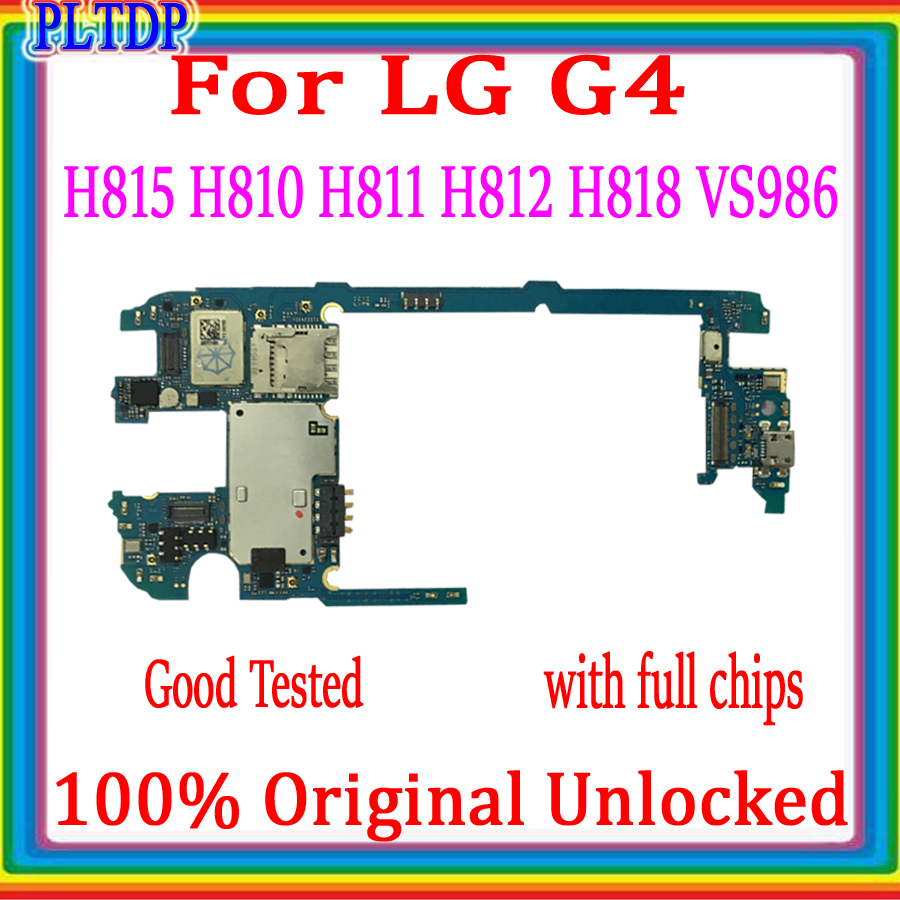 For <font><b>LG</b></font> G4 <font><b>H815</b></font> H810 H811 H812 H818 VS986 <font><b>Motherboard</b></font> 32gb, with Android System Logic board ,With full chips Good Tested image