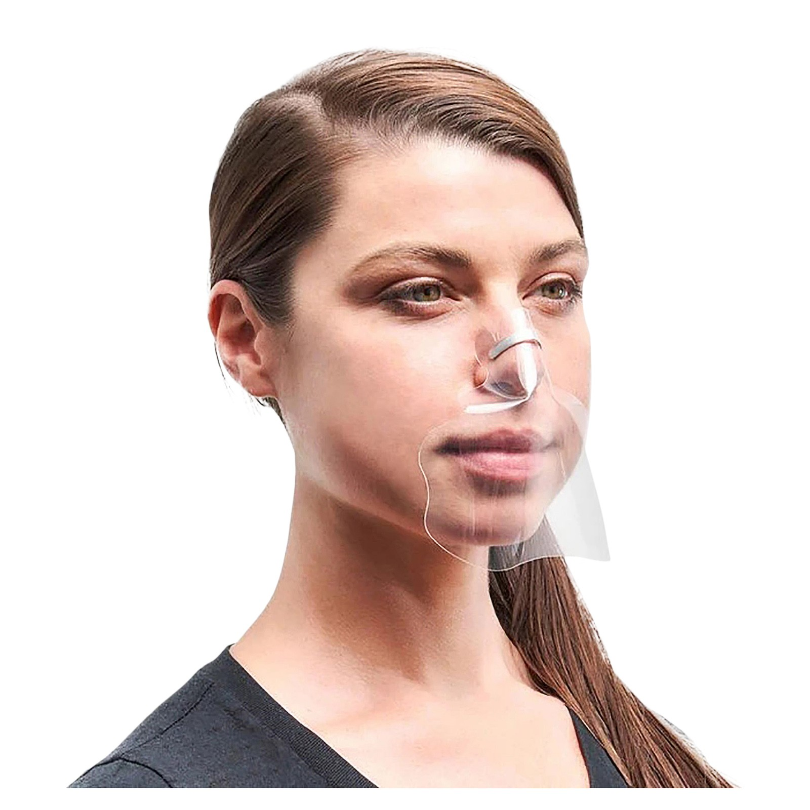 1/3/5 шт. взрослых прозрачный зажим для носа, маска для Для мужчин/Для женщин Для мужчин многоразового использования, чистая поверхность произ...