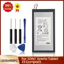 Batteria di ricambio autentica LIS1569ERPC per Tablet SONY Xperia Z3 Compact 4500mAh
