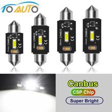 Гирлянда 31 мм 36 мм 39 мм 41 мм светодиодный C5W светодиодный автомобильный светильник s Canbus безошибочный светодиодный светильник Внутренняя купольная дверь карта светильник Авто Лампа 12 В