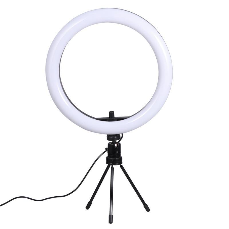 Supplementary Light Lamp Live Supplementary Light Lamp Mobile Phone Bracket Ring Light Dimmable Phone Stand Ring Light for Home
