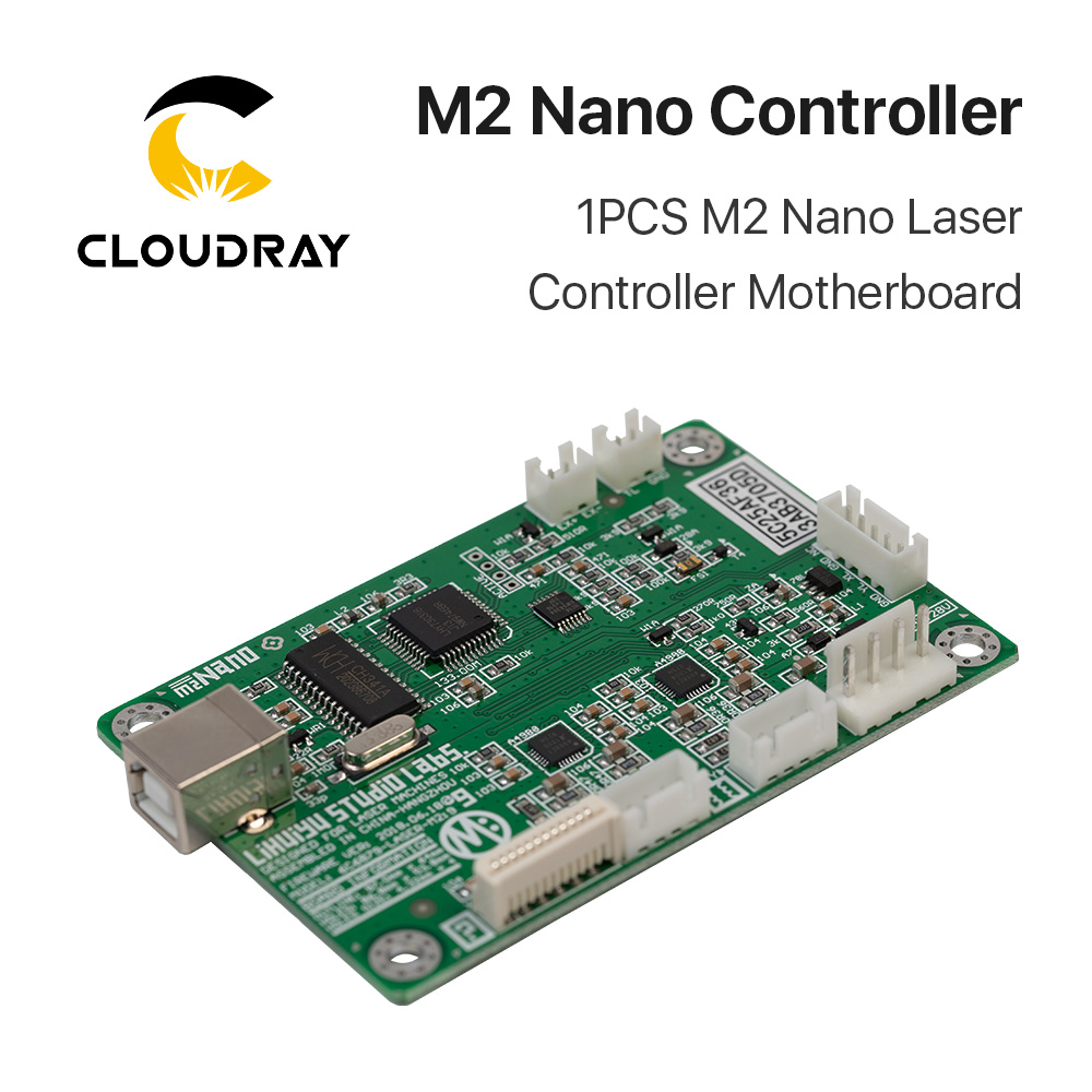 Image 2 - Cloudray LIHUIYU M2 Nano Laser Controller Mother Main Board + Control Panel + Dongle B System Engraver Cutter DIY 3020 3040 K40-in CNC Controller from Tools