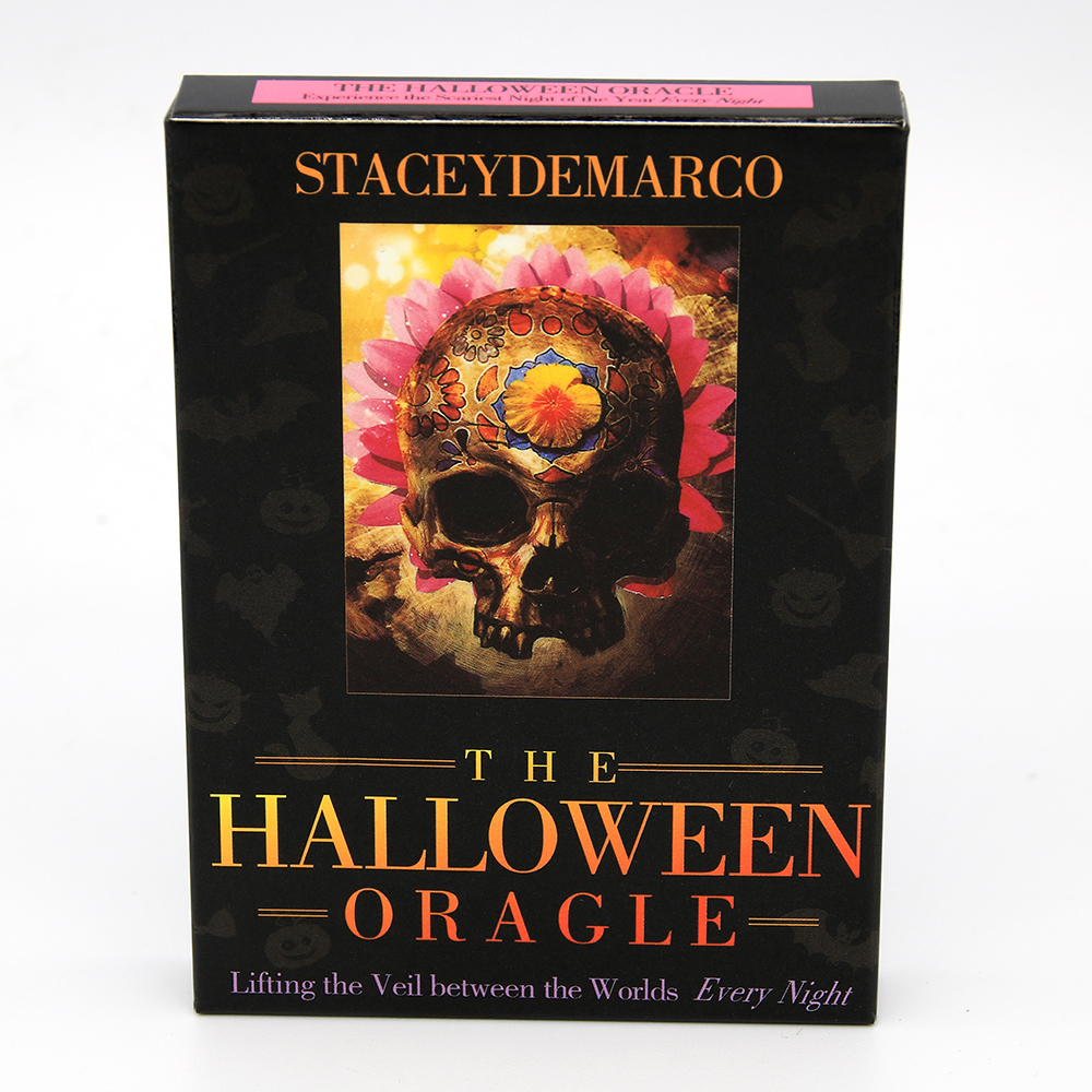 The Halloween Oracle: Lifting The Veil Between The Worlds Every Night Cards A Message Of Divination Of Halloween Tradition