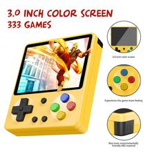 מיני נייד רטרו כף יד GameBoy 333 משחקים 8 קצת ילדי נוסטלגי נגני וידאו קונסולת משחק ילד עבור ילד נוסטלגי