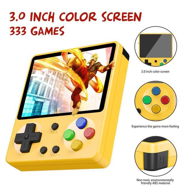 Mini Portatile Retro Palmare Gameboy 333 Giochi 8 Bit Bambini Nostalgico Lettori Video Console di Gioco Del Ragazzo per Il Bambino Nostalgico