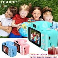 Tishic Mini cámara Digital para niños 1080P juguetes educativos para niños cámara para grabar vídeo para niños cumpleaños/regalos