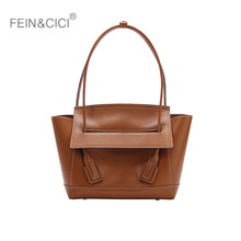 Women vintage retro flap shoulder bag camel brown white baguette brand quality ladies handbag 2019 fall winter summer new